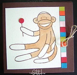 Sock Monkey--No Name