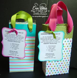 Bags with tags