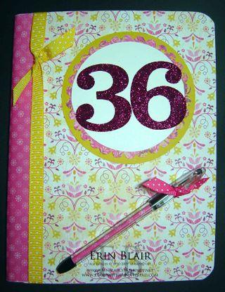 My 36 Book