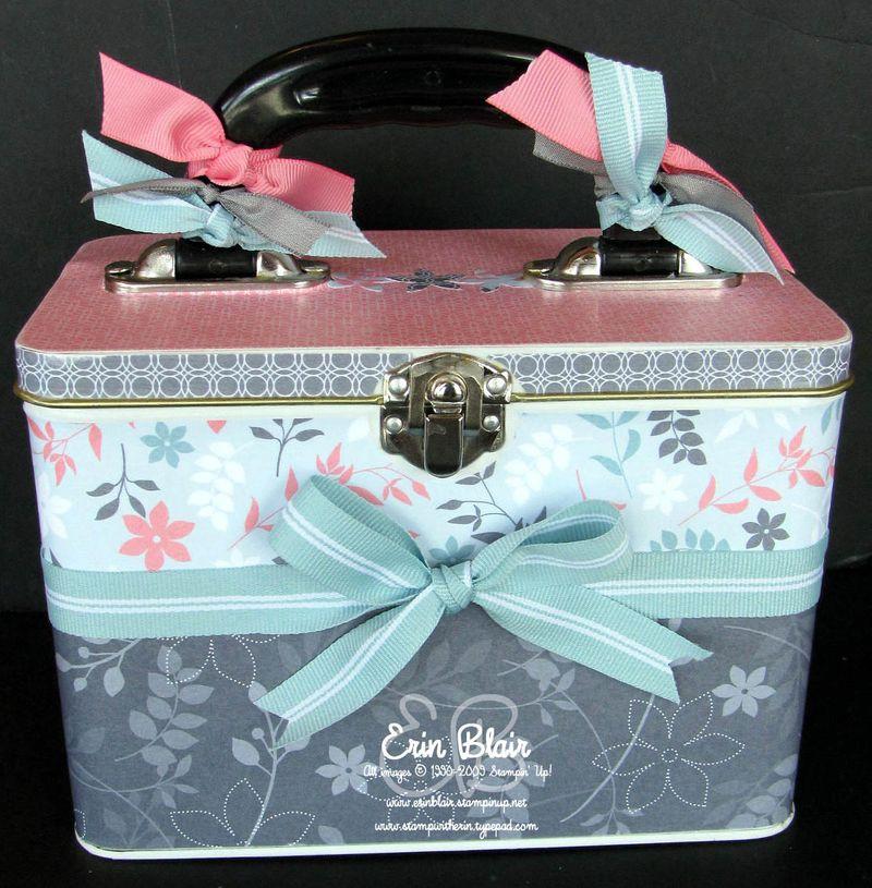 Lunch Box Tin