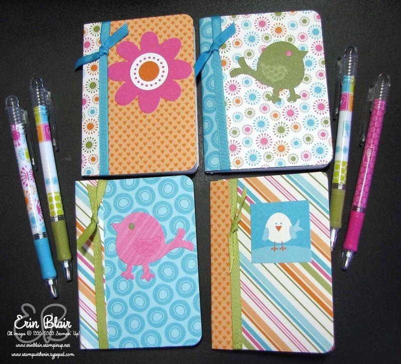 Mini Notebooks & Pens