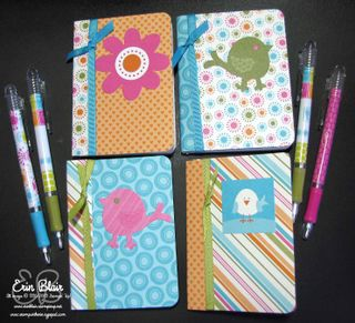 Mini Notebooks & Pens