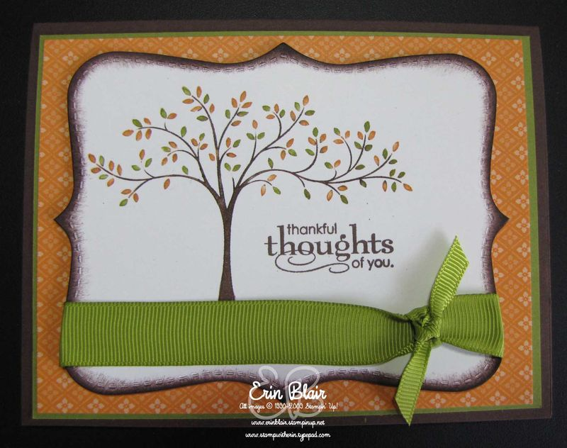 Thankful Thoughts-Tree
