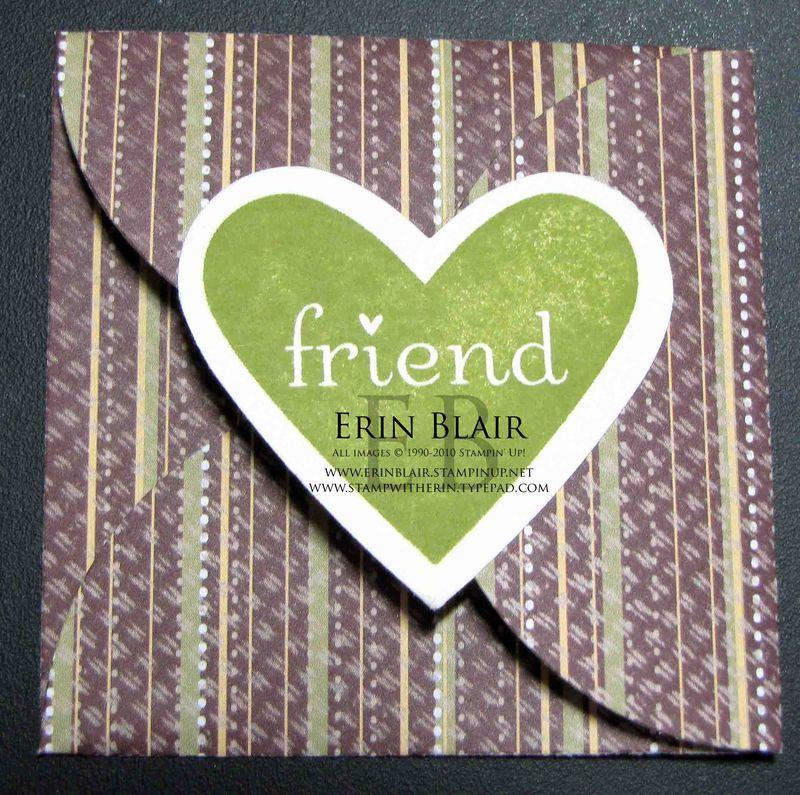 Petal Card Bookmark
