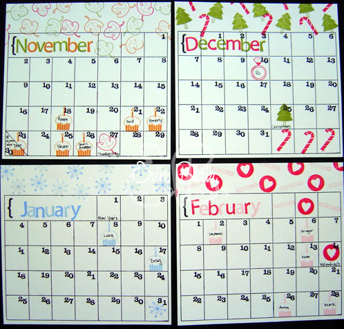 Clipboard Calendar-3