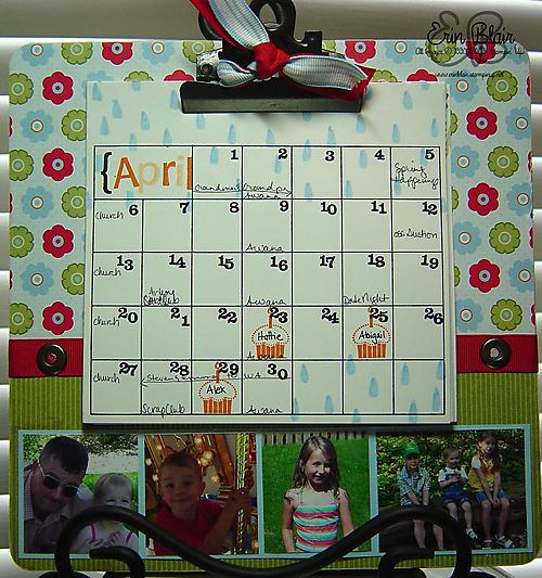 Clipboard Calendar-pictures